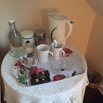 Tea and Coffee station in theroom