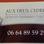 Foto de Les Deux Cedres