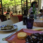 Nice terrace nice food