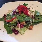 Mixed green salad at Charlie Gitto's