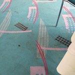 Der Boden im Frühstückssaal. Lecker!