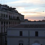 Sunset - rooftop view