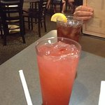 Lemonade with dash of Loganberry