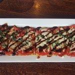 tasty but overpriced - margharita flatbread pizza