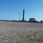 Jesolo beach/ light house