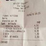 11,5€ por cabeza (2 personas)