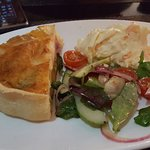 Lovely quiche, unusually with beetroot but very tastey!