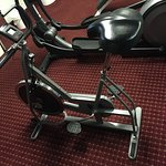 Antiquated Fitness Equipment. Unstable Schwinn.