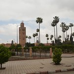 Photo de Mosquée et minaret de Koutoubia