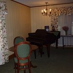 Loved being able to play the piano in this great room.....