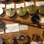 Old fishing rods and reels