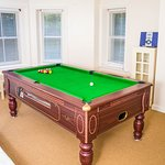 Americal Pool Room with full size table