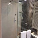 Bath rain shower ... prefer this over bath tubs