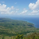 The view from the top of the Piton (separate from boat tour).
