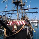 My Trip to the Golden Hind Museum Ship.