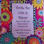 Colourful menu!