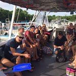 Diving with our friends!