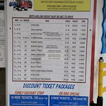 Prices- definitely worth the wrist band. Look in local guides to get good discounts.