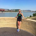 Running Tours Budapest! 13.4 miles of sightseeing/training!