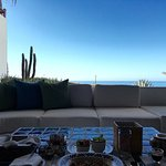Breakfast on the terrace with garden and ocean view (601)