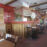 """Interior of """"Henry's Restaurant"""": Kill Devil Hills, NC"""