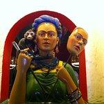 El Busto de Frida. La Joya de la Corona del restaurante