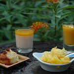 douceurs exotiques du petit déjeuner