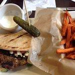 My Mediterranean burger