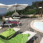 Beautiful views and villa X