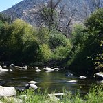 Kern River behind the hotel