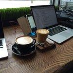 работа под вкусный кофе это всегда хорошо