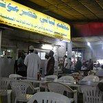 alfresco dining with locals