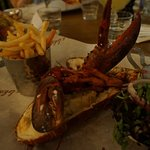 Worth the money and wait! Lobster comes in steamed or grilled form. Both are great :)) topped th