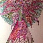 Mardi Gras costume renderings