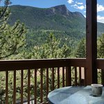 Deck with RMNP view