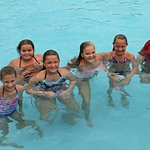 Girls had a great time in the pool!!