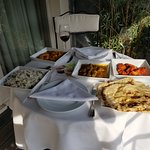 One Night of Superb Indian Food on the Terrace!