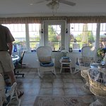 sunroom for relaxing and breakfast