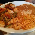 Lunch Shrimp Fajitas