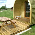 Relax on our Decking outside each Pod
