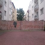 Fragment of Ghetto Wall Foto
