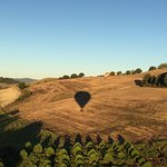 Ballooning in Tuscany Foto