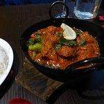 Chicken Tikka and Garlic Balti