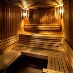 Sauna im pentahotel Berlin-Potsdam