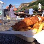 Haddock & regular chips