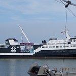 Party Schiff im Hörnumer Hafen