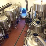 Brewing equipment at Lone Eagle Brewing