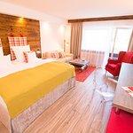 Beispiel Wohnbereich Doppelzimmer Comfort