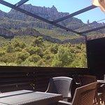 Magnificas vistas desde la terraza para comer o hacer el café