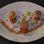 tiramisu revisité fraise pistache